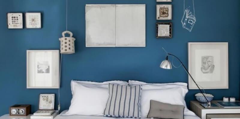 le blue pour habiller votre intérieur