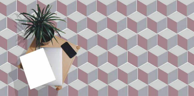 nouvelle collection hexagonale de carreaux de ciment