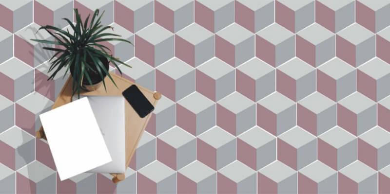 nouvelle collection hexagonale de carreaux de ciment