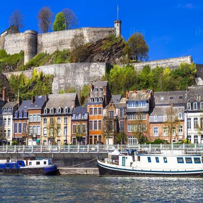 Namur carreaux de ciment Belgique cimenterie de la tour