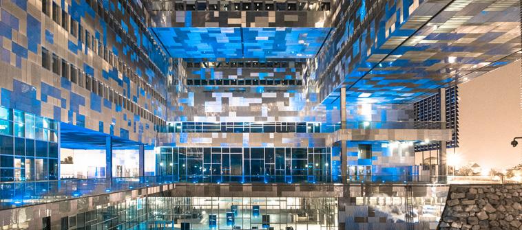 montpellier, ville à l'architecture moderne