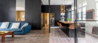 carreau ciment dans appartement hausmannien contemporain a montpellier