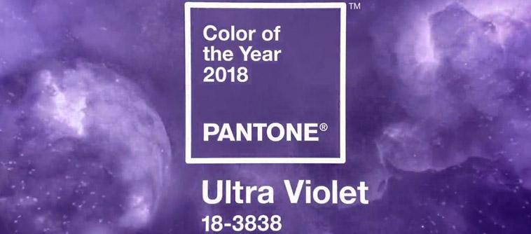 couleur de l'année 2018 pantone décoration