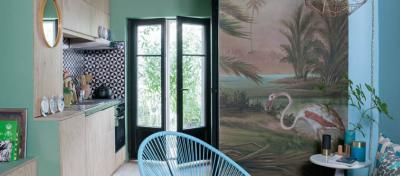 décoration maison en vert tendance