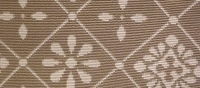 tissus en motifs carreaux ciment
