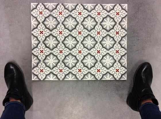 motifs carreaux de ciment pour les murs cimenterie de la tour