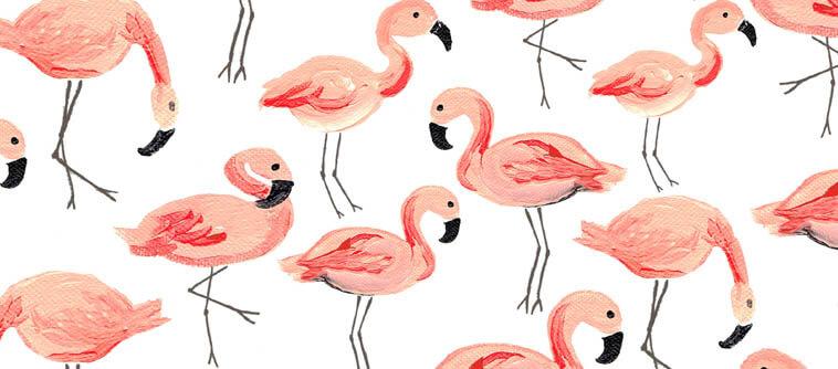 decoration flamingo tendance