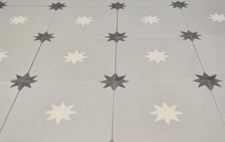 Carreaux de ciment motifs étoile Calais 62, Cimenterie de la Tour