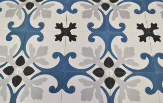 Carreaux de ciment bleu à Limoges 87, Cimenterie de la Tour