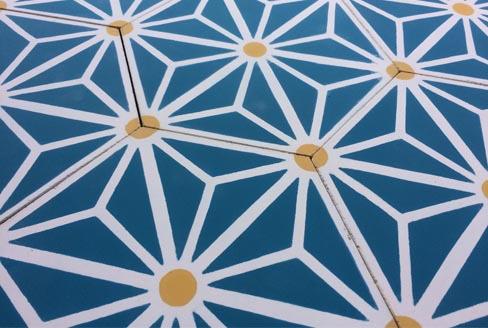 Carreaux de ciment hexagonal Paris 75000, Cimenterie de la Tour