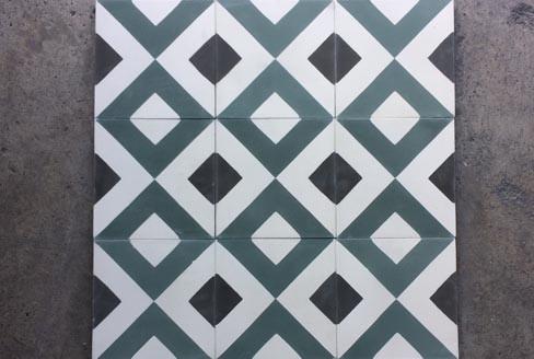 Motifs géométriques carreaux ciment Pau 64, Cimenterie de la Tour