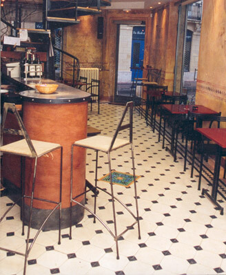 Restaurant carreaux de ciment Montpellier 34, Cimenterie de la Tour