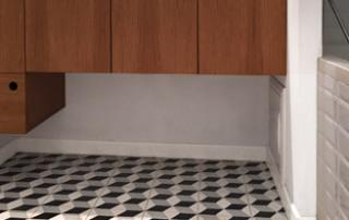 Les r alisations en carreaux de ciment cimenterie de la tour - Salle de bain saint brieuc ...