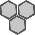 Carreau de ciment - Hexagone H10M001