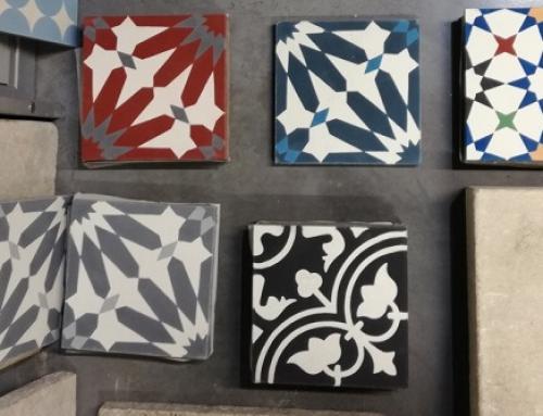 Les carreaux de ciment géométriques