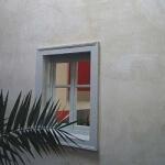 enduit à l'ancienne sur les murs d'une facade