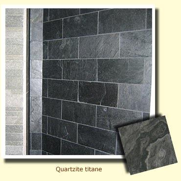 mur en pierre naturelle anthracite