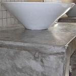 salle de bain chaux effet taddelack