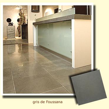 sol d'une cuisine en pierre