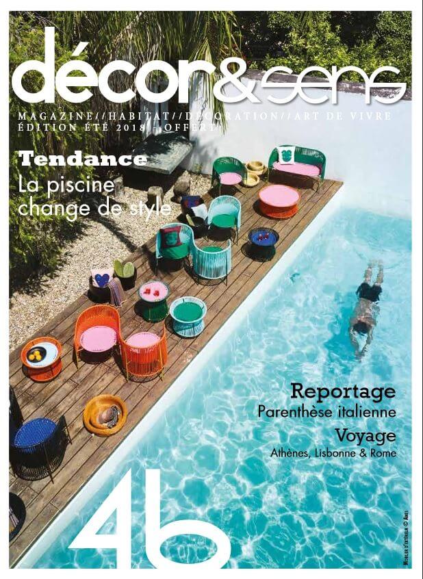 magazine decor&sens montpellier été 2018