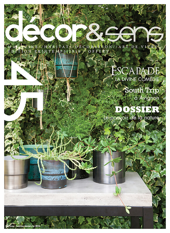 magazine decor&sens montpellier printemps 2018