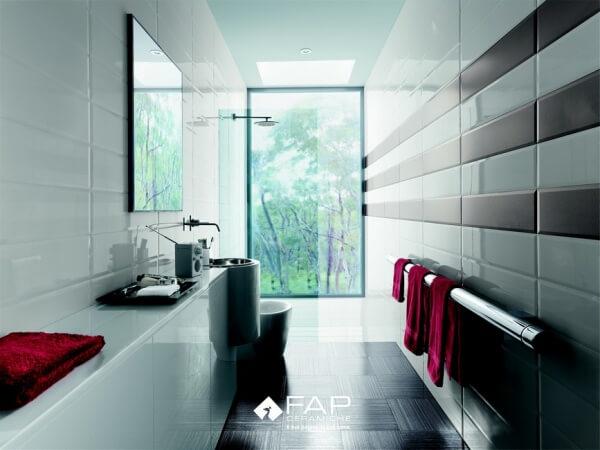 Salle de bain carrelage sol et mur