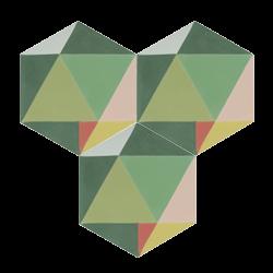 Carreau de ciment – Hexagone – MELIPAPIFRESH-A