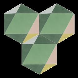 Carreau de ciment – Hexagone – MELIPAPIFRESH-B