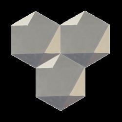 Carreau de ciment – Hexagone – MELIPAPIGREY-C