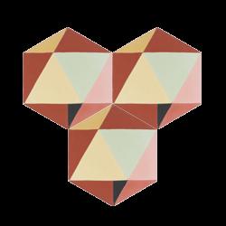 Carreau de ciment – Hexagone – MELIPAPIRED-A