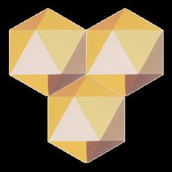 Carreau de ciment – Hexagone – MELIPAPISUNNY-A