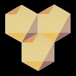 Carreau de ciment – Hexagone – MELIPAPISUNNY-C