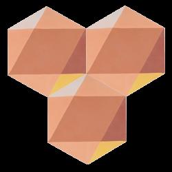 Carreau de ciment – Hexagone – MELIPAPITERRA-B