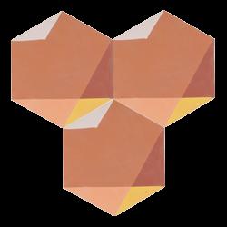 Carreau de ciment – Hexagone – MELIPAPITERRA-C