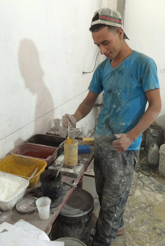 créateur carreau ciment
