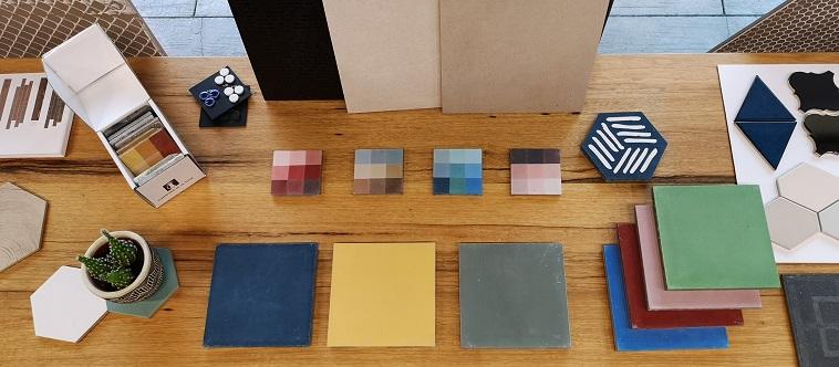 couleur tendance des carreaux de ciment