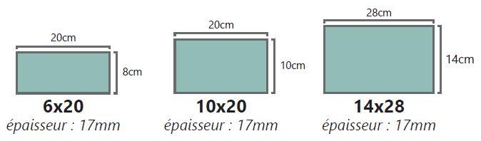 formats rectangulaires cimenterie de la tour