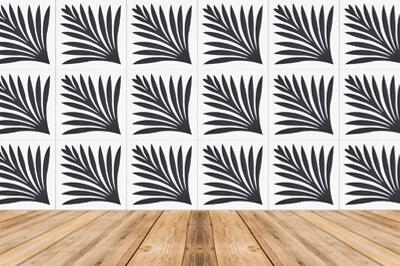 carreau ciment moderne noir et blanc
