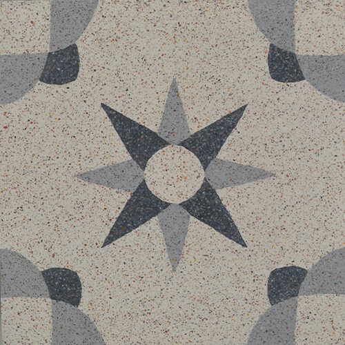 granito gris et noir etoile