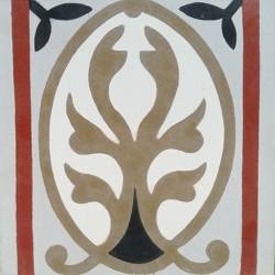 bordure de carreaux de ciment