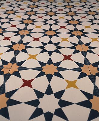 carreau de ciment floral coloré Montpellier