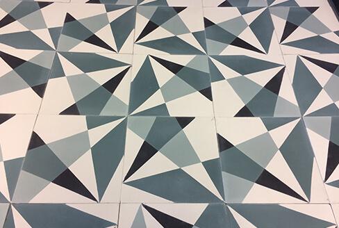carreau de ciment geometreique Paris