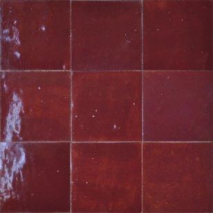 zellige rouge cimenterie de la tour