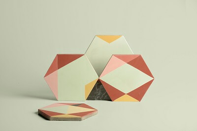 Idées de décoration avec un Carreau ciment hexagone Eli