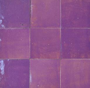 zellige z18 violet cimenterie de la tour