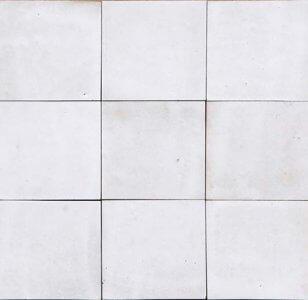 zellige z2 blanc fes cimenterie de la tour