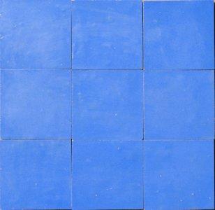 zellige z34 bleu azur cimenterie de la tour
