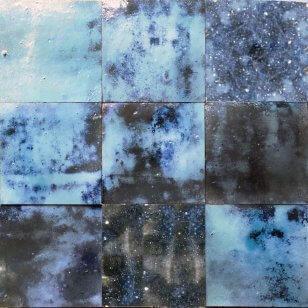 zellige z37 bleu magique cimenterie de la tour