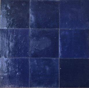 zellige z39 bleu nuit cimenterie de la tour