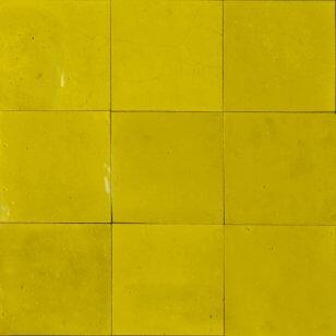 zellige z53 jaune eclat cimenterie de la tour